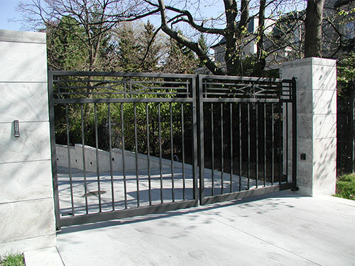 Residential swing gates standalone or masonry total gate