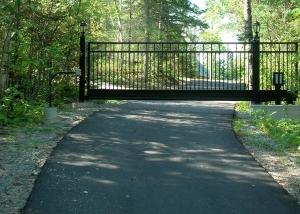 stand alone slide gate