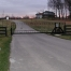 stand alone slide gate for estate farm