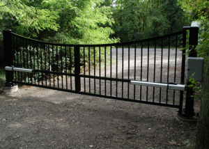 stand alone swing gate